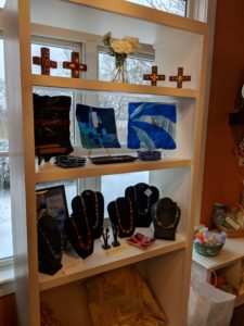 Mosaic, Glass, Jewelry at the Community of Jesus